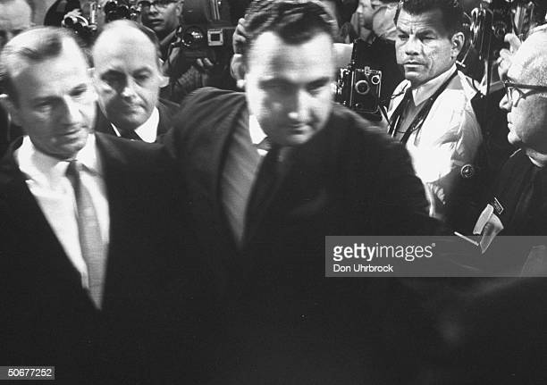 Jack Ruby on trial for the murder of Lee Oswald