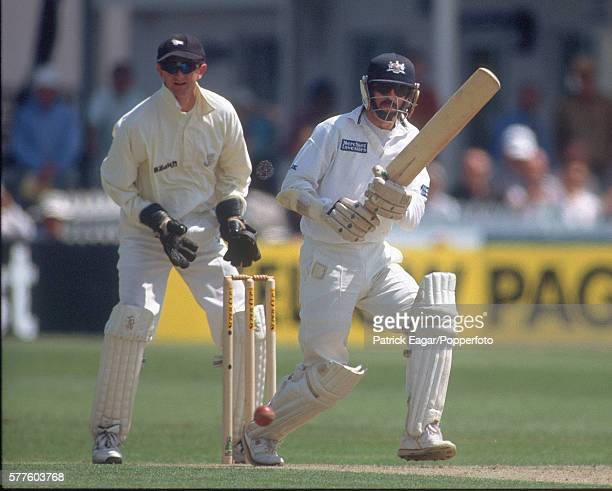 Jack Russell batting for Gloucestershire during the Benson and Hedges Super Cup Semi Final between Gloucestershire and Sussex at Bristol 11th July...