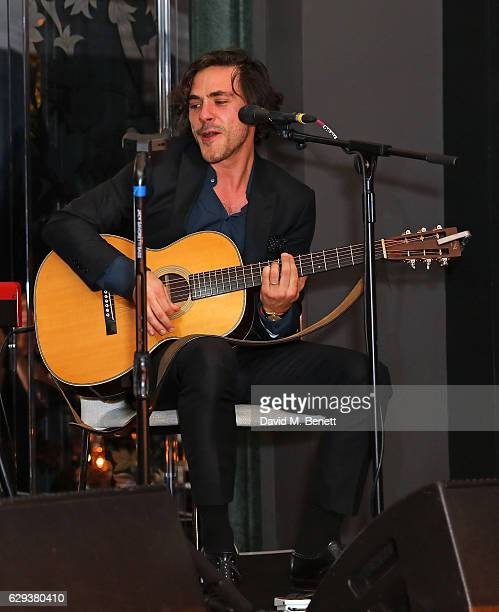 Jack Savoretti attends Rosewood Mini Wishes Gala Dinner in support of Great Ormond Street Hospital on December 12 2016 in London England