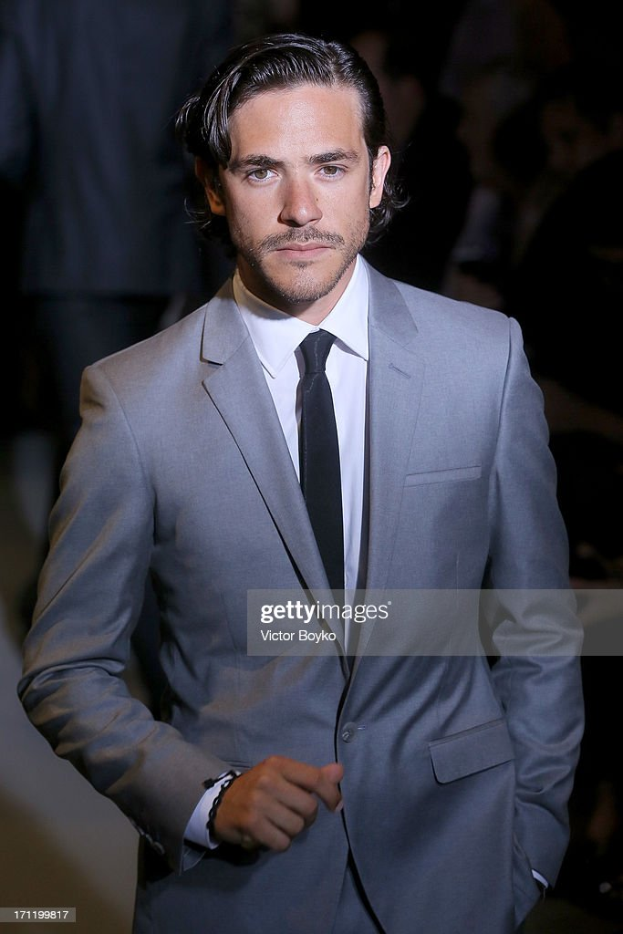 Jack Savoretti attends the Calvin Klein Collection show ...