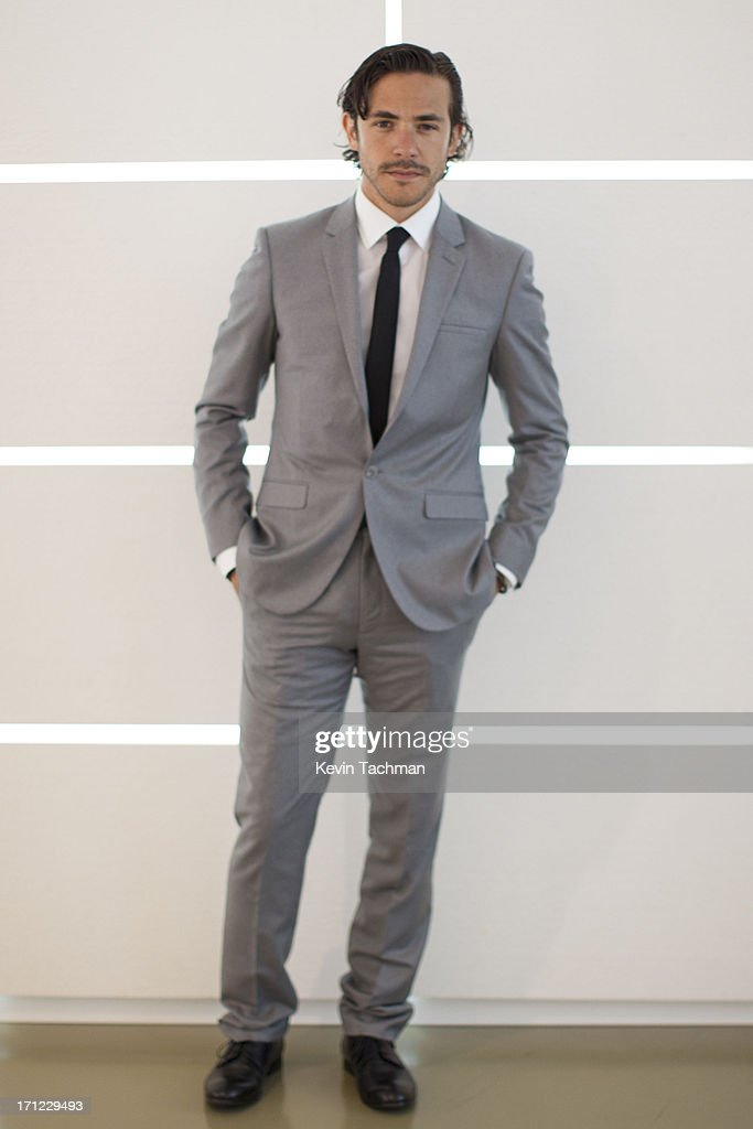 Jack Savoretti attends the Calvin Klein Collection show during Milan Menswear Fashion Week Spring Summer 2014 on June 23, 2013 in Milan, Italy.
