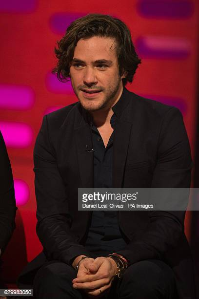 Jack Savoretti during filming of the Graham Norton Show at The London Studios south London to be aired on BBC One on Friday evening
