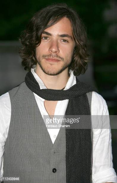 Jack Savoretti during The Blush Ball 2007 Outside Arrivals at Natural History Museum in London Great Britain