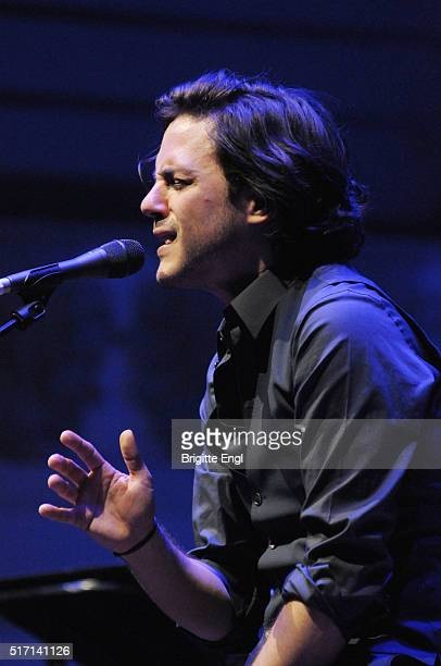 Jack Savoretti performs at Cadogan Hall on March 23 2016 in London England
