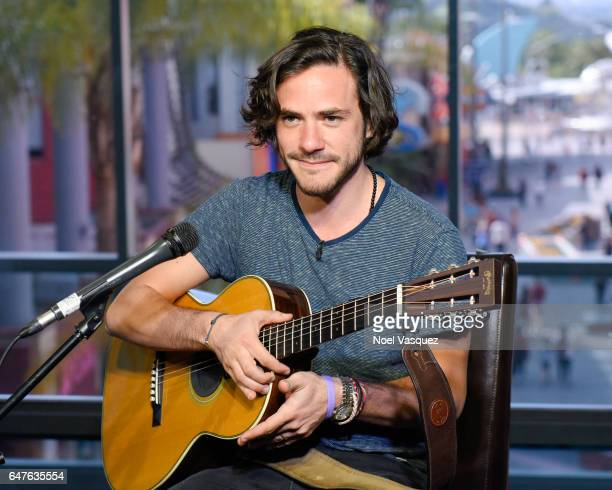 Jack Savoretti performs at Extra at Universal Studios Hollywood on March 3 2017 in Universal City California