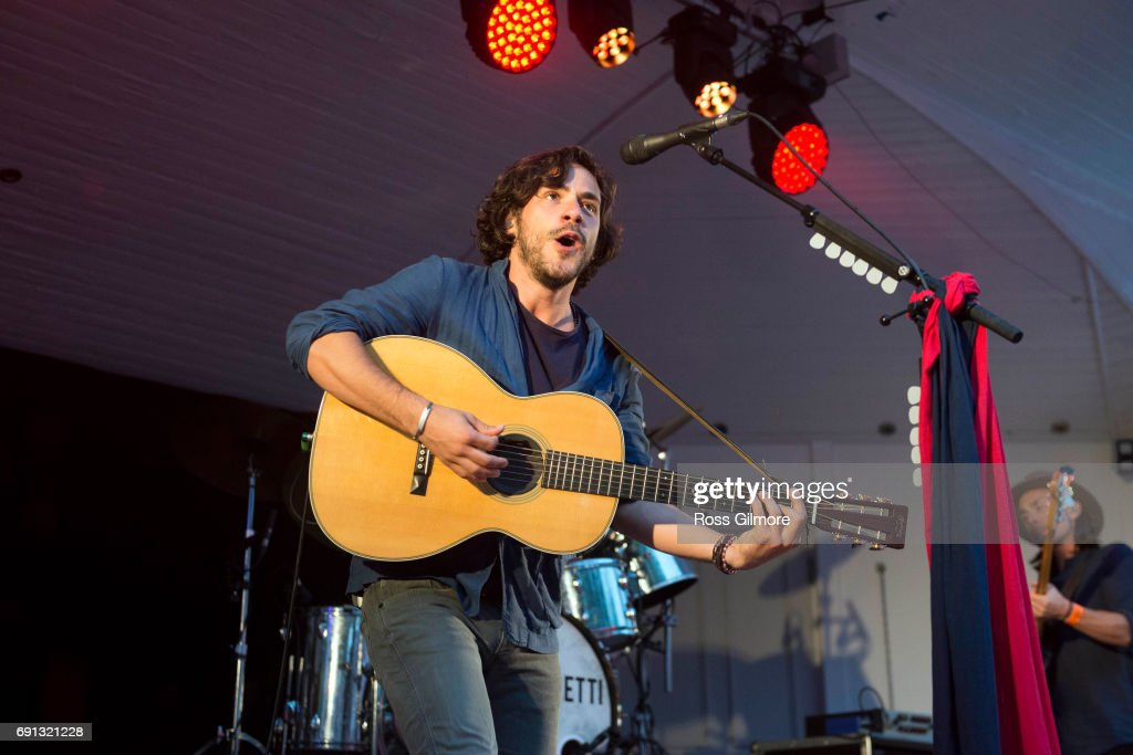 Jack Savoretti Performs At Kelvingrove Bandstand