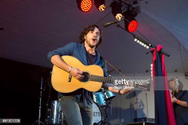 Jack Savoretti performs at Kelvingrove Bandstand on June 1 2017 in Glasgow Scotland