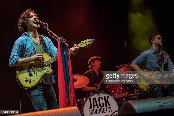Jack Savoretti performs at Summer Arena Assago on June 16 2016 in Milan Italy