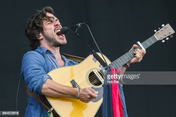 Jack Savoretti performs on day 3 of The Isle of Wight festival at Seaclose Park on June 10 2017 in Newport Isle of Wight