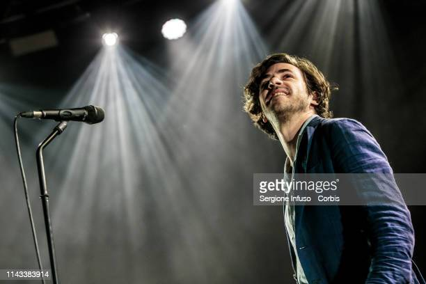 Jack Savoretti performs on stage at Fabrique Club on April 17 2019 in Milan Italy