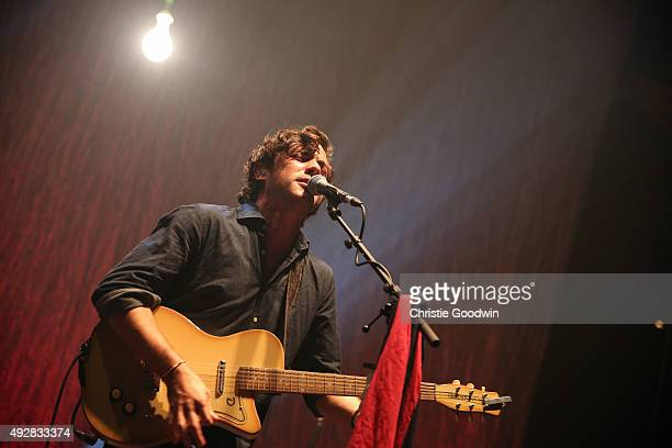 Jack Savoretti performs on stage at The Roundhouse on October 15 2015 in London England