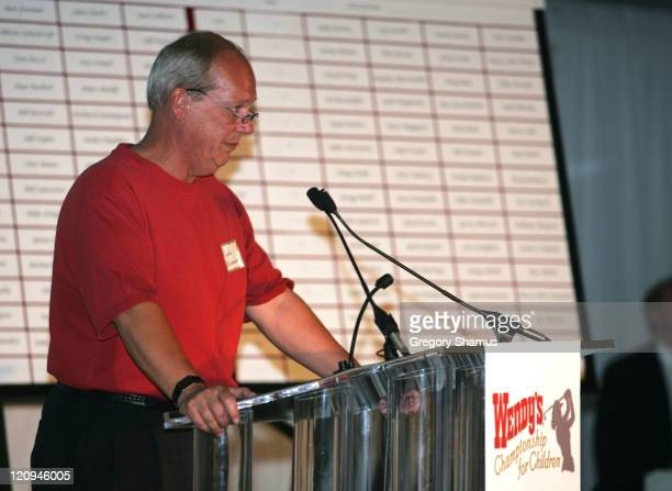 Jack Schuessler during LPGA 2004 Wendy's Championship for Children Gordon Teter Memorial ProAm Draw Party in Dublin Ohio United States Photo by...