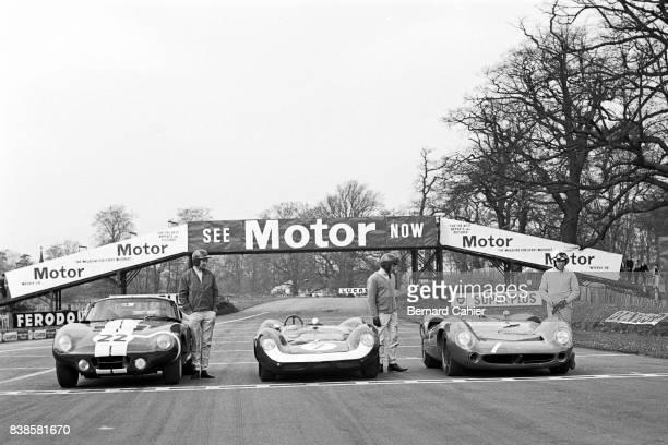 Jack Sears Jim Clark John Surtees Shelby Cobra Daytona Coupe LotusFord 30 LolaChevrolet T70 Tourist Trophy Oulton Park 01 May 1965
