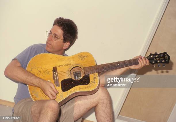Jack Sherman guitarist for the Red Hot Chili Peppers poses for a portrait in Los Angeles California on June 1 1998