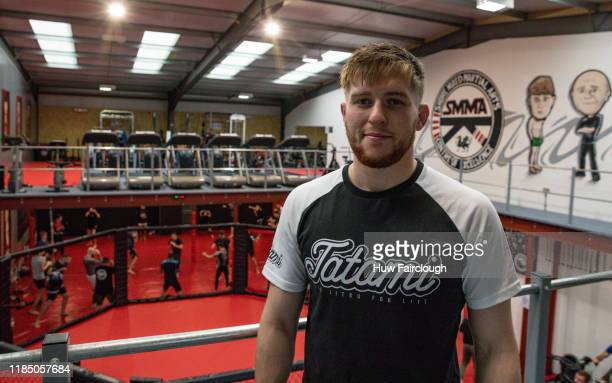 Jack Shore at the opening of Shore Mixed Martial Arts on November 2 2019 in Abertillery Wales