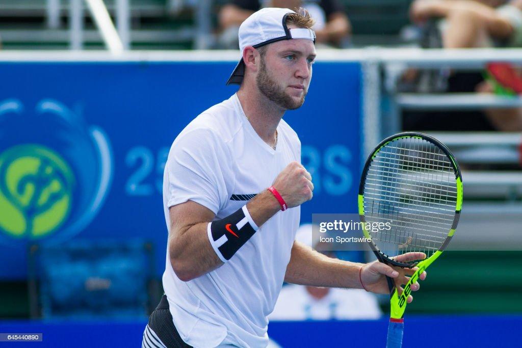 TENNIS: FEB 25 ATP Delray Beach Open : News Photo