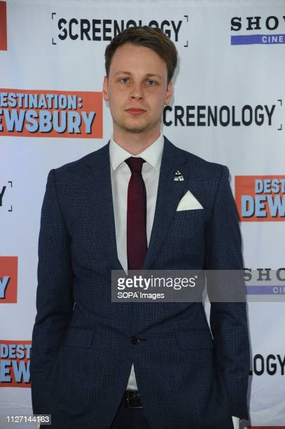 Jack Spring seen during the Destination Dewsbury UK premiere A premiere of a new British comedy about five friends who reunite for one last road trip...