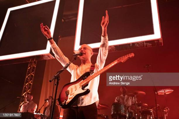 Jack Steadman of Bombay Bicycle Club performs at O2 Academy Leeds on January 25 2020 in Leeds England