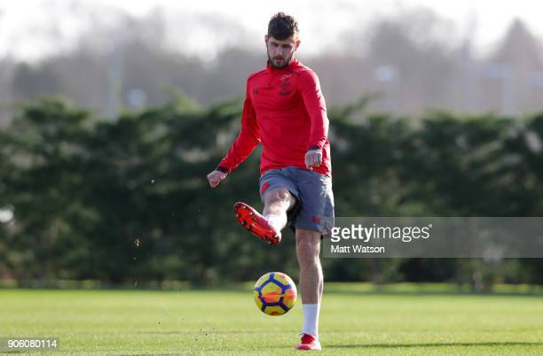 Jack Stephens of Southampton FC during a training session at the Staplewood Campus on January 17 2018 in Southampton England