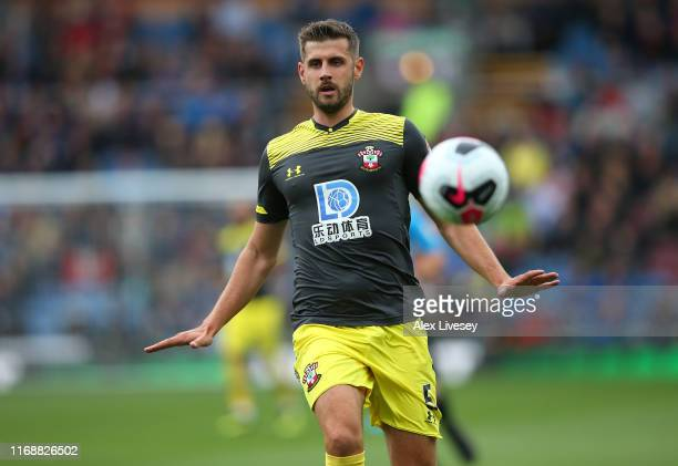 Jack Stephens of Southampton FC during the Premier League match between Burnley FC and Southampton FC at Turf Moor on August 10 2019 in Burnley...
