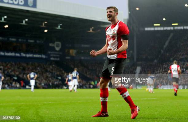 Jack Stephens of Southampton FC during the Premier League match between West Bromwich Albion and Southampton at The Hawthorns on February 3 2018 in...
