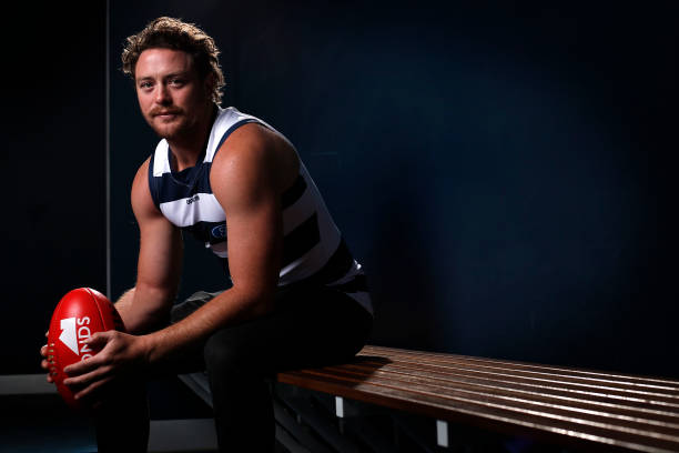 AUS: Jack Steven Geelong Cats Signing Media Opportunity