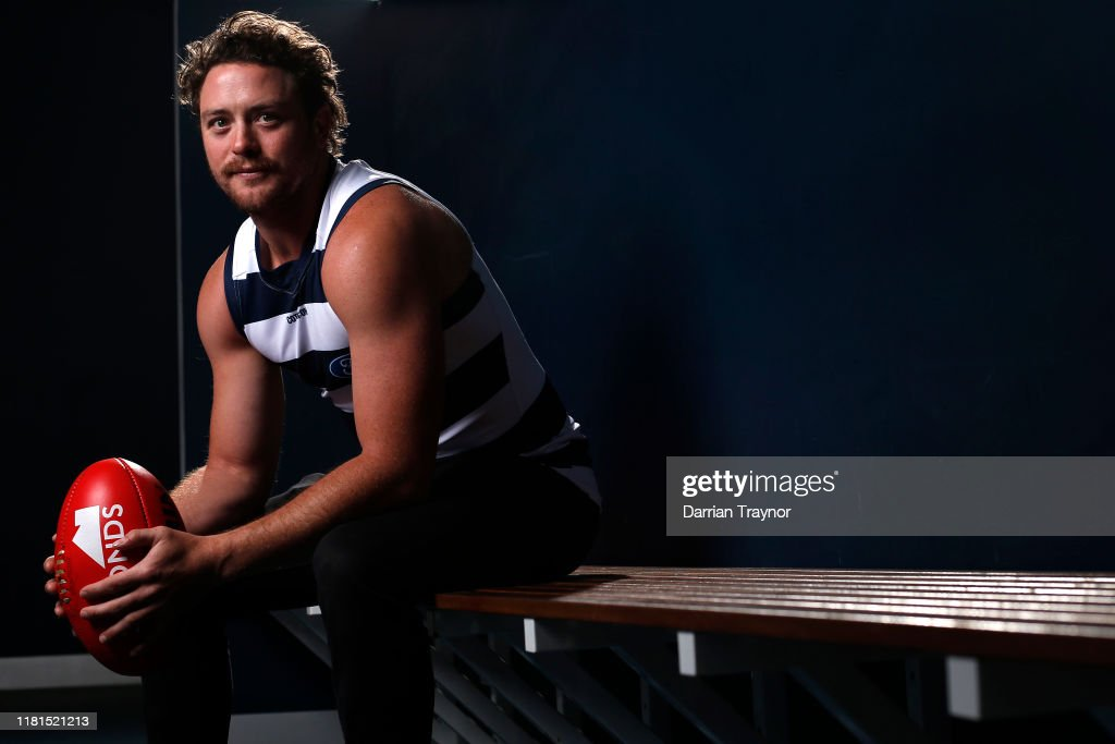Jack Steven Geelong Cats Signing Media Opportunity : News Photo