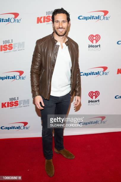 Jack Stone from The Bachelorette attends the 1061 KISS FM's Jingle Ball 2018 presented by Capital One at American Airlines Center on November 27 2018...