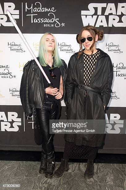 Jack Strify and Riccardo Simonetti attend the Star Wars event at Madame Tussauds on May 11 2015 in Berlin Germany