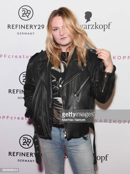 Jack Strify attends the Schwarzkopf x Refinery29 event at Bar Babette on June 8 2017 in Berlin Germany