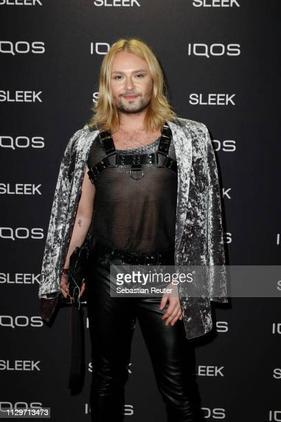 Jack Strify during the Sleek X IQOS Valentines Party at Claerchens Ballhaus on February 14 2019 in Berlin Germany