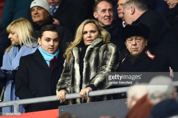 Jack Sullivan Managing Director of West Ham United Women Emma BentonHughes partner of David Sullivan and David Sullivan co owner of West Ham United...