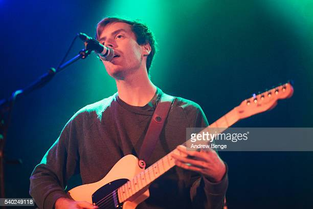 Jack Tatum of Wild Nothing performs on stage at Belgrave Music Hall on June 14 2016 in Leeds England