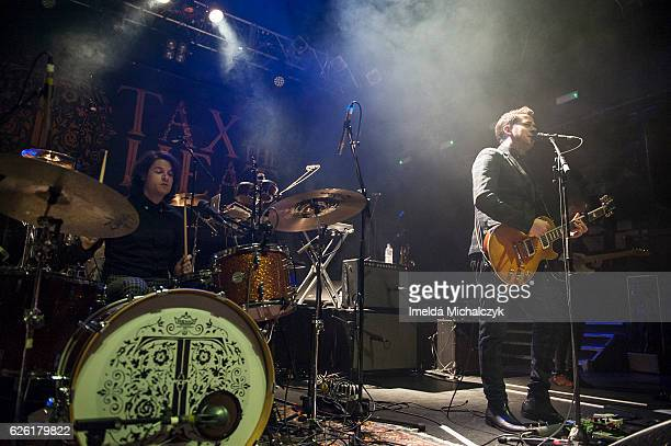 Jack Taylor and Alex Veale of Tax The Heat perform at KOKO on November 27 2016 in London England