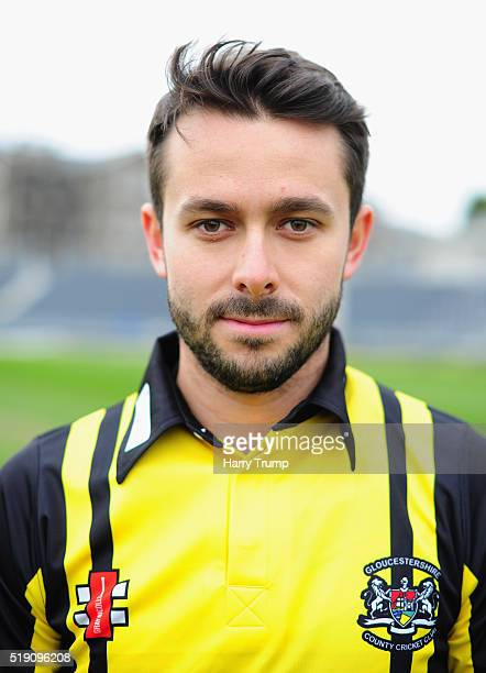 Jack Taylor of Gloucestershire poses during the Gloucestershire CCC Photocall at the County Ground on April 4 2016 in Bristol England Bristol England
