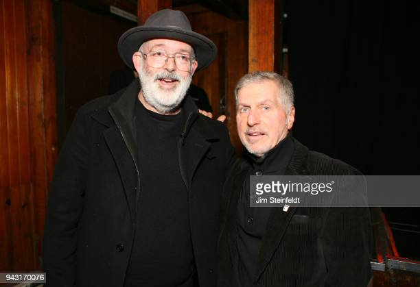 Jack Tempchin and Johnny Rivers at the Troubadour in Los Angeles California on May 7 2015