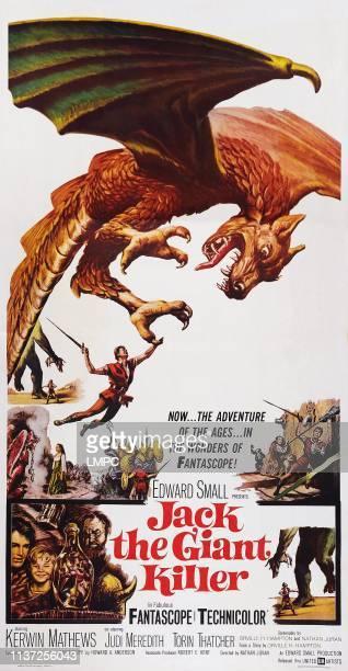 Jack The Giant Killer poster US poster art 1962
