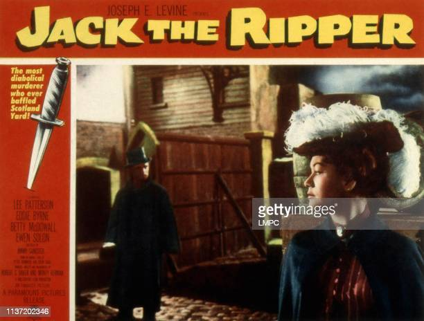 Jack The Ripper lobbycard 1959