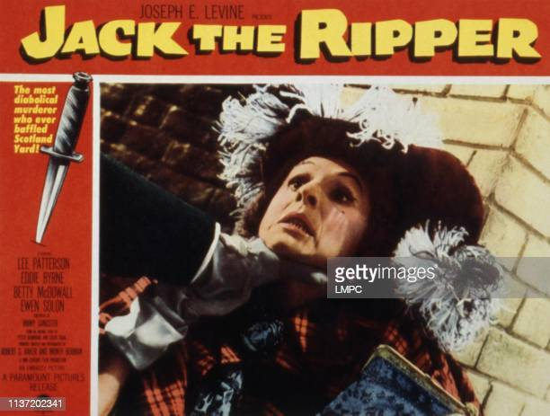 Jack The Ripper lobbycard Helena Digby 1959