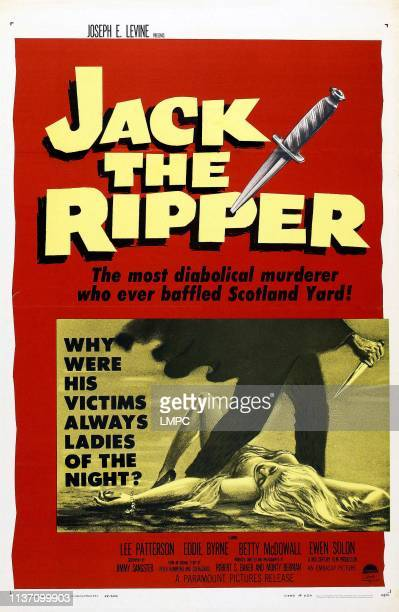 Jack The Ripper poster poster 1959