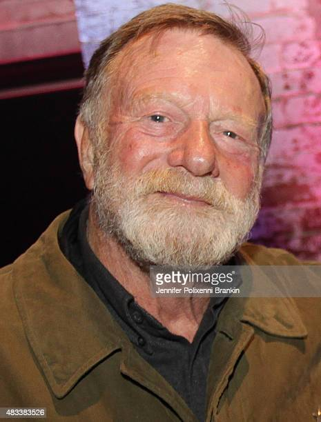 Jack Thompson arrives at the opening night of 'The Present' at Sydney Theatre Company on August 8 2015 in Sydney Australia