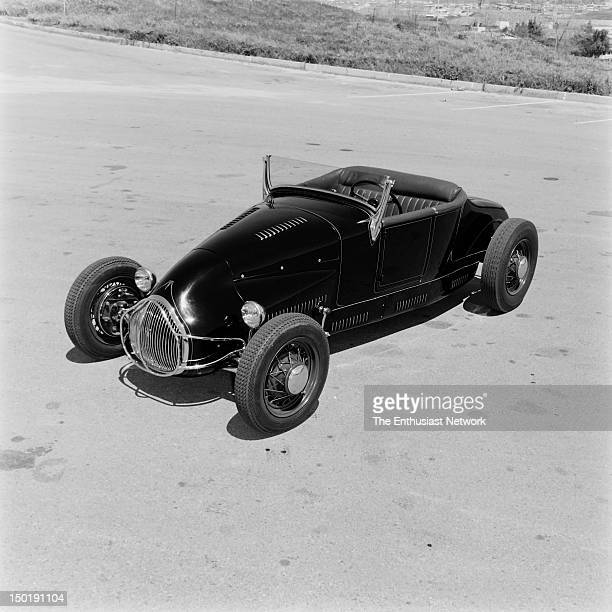 Jack Thompson's 1927 Ford Model T Roadster TrackNose Flathead Hot Rod magazine August 1958 From the firewall back the body is basically 1927 Ford...