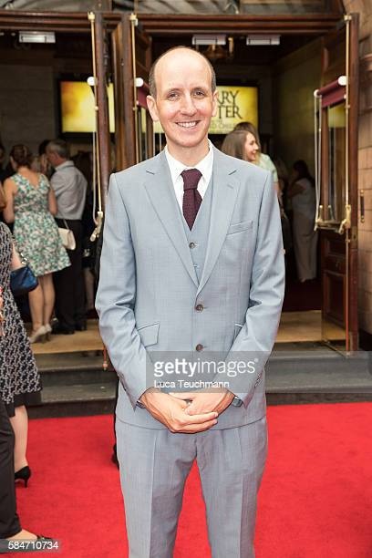 Jack Thorne attends the press preview of 'Harry Potter The Cursed Child' at Palace Theatre on July 30 2016 in London England