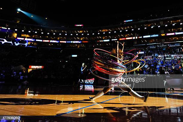 Jack U perform during halftime at a basketball game between the Houston Rockets and the Los Angeles Clippers at Staples Center on May 10, 2015 in Los...