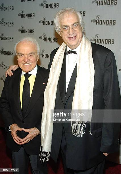 Jack Valenti and Bertrand Tavernier during DGA Announces Presenters and Guests for 5th Annual DGA Honors - Arrivals at Waldorf Astoria in New York...
