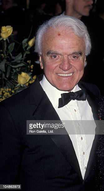 Jack Valenti during 50th Anniversary Party For Charlton Heston and Lydia Heston at Hotel Nikko in Beverly Hills California United States