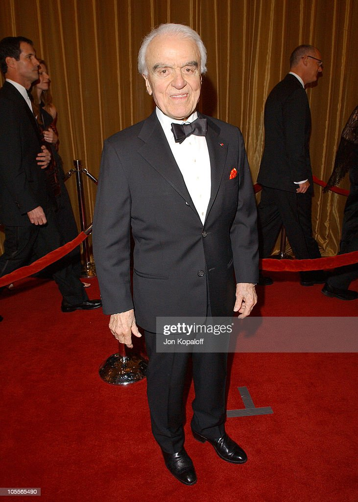 Jack Valenti during 57th Annual Directors Guild Awards - Arrivals at Beverly Hilton Hotel in Beverly Hills, California, United States.