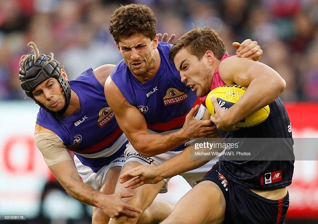 AFL Rd 8 - Melbourne v Western Bulldogs : News Photo