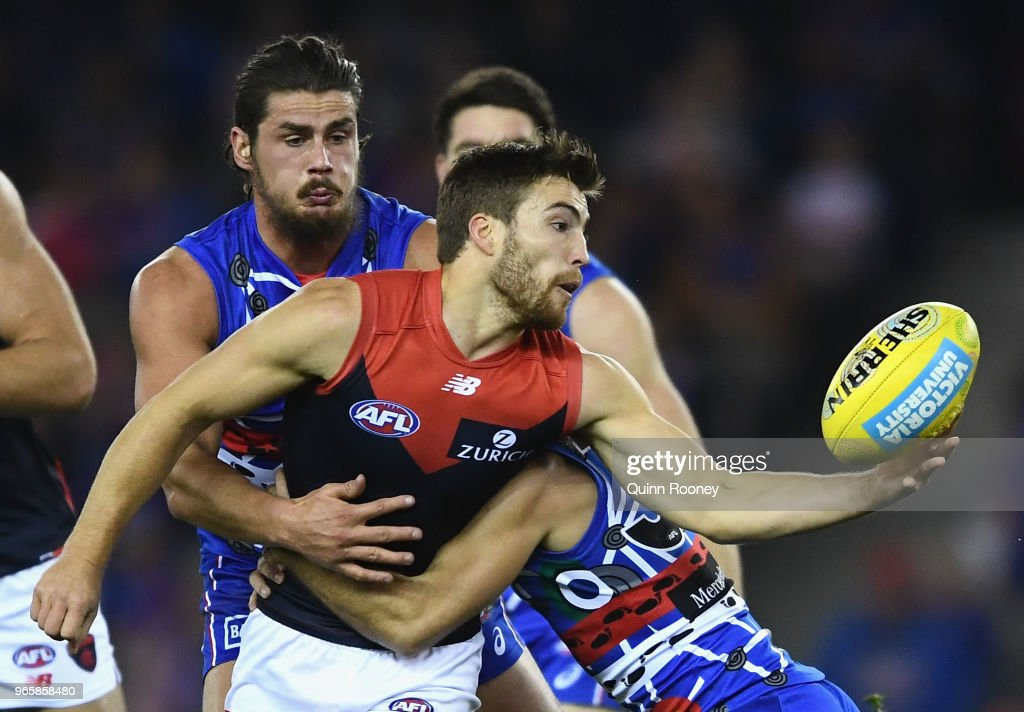 AFL Rd 11 - Western Bulldogs v Melbourne : News Photo
