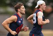 melbourne australia jack viney demons sprints
